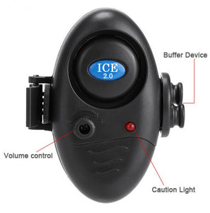 "Ice Fishing ""Mini"" Bite Alarm V2.0 w/ LED Light & Adjustable Volume Control - New for 2016 - Thirsty Buyer - 1"