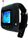 "Ice Fishing ""Wireless"" Color Fish & Depth Finder Wrist Watch - All The Details You Need From Your Wrist!"