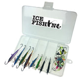 "Ice Fishing ""Super Lures"" Jig Set - 26 Jigs for one LOW PRICE"