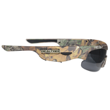 """Live to Hunt"" HD Hunting Camo Glasses w/ Built-in VIDEO CAMERA - Record Your Hunts!"