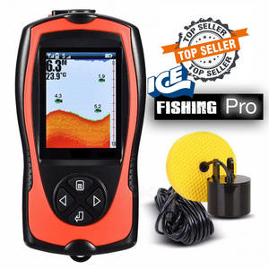 "Ice Fishing COLOR Mobile ""Pocket Portable"" LCD Fish Finder"