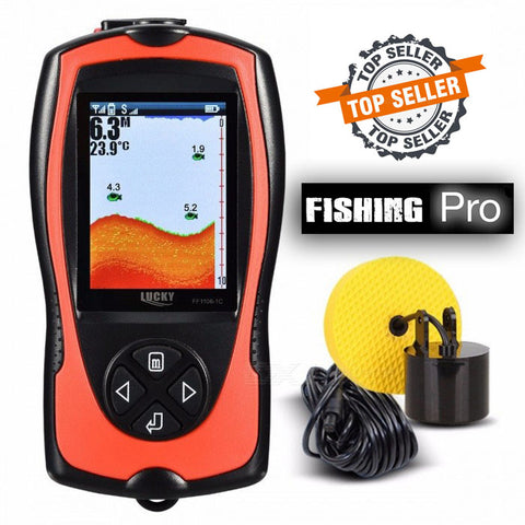 "Ultra COLOR Mobile ""Pocket Portable"" LCD Fish Finder V3.0"