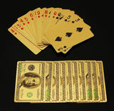 "24k Gold Plated ""BIG GAME"" Poker Playing Cards - Thirsty Buyer - 6"