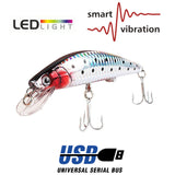 "Electronic ""Vibrating"" LED Flashing Fishing Lure - NEW"