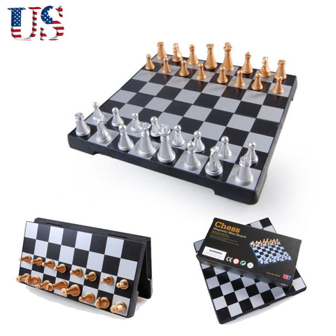"""Mobile"" Magnetic Chess Board - Traveler's Edition"