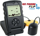 "Ice Fishing ""Flip-Up"" LCD Fish Finder"