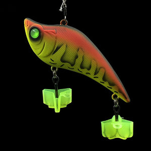 "Fluorescent ""Ball Grip"" Treble Hook Covers - 50 Pack BEST VALUE"