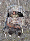 Buy 1 Get the 2nd FREE (Limited Time) - 2 MAN Hunter's Realtree Camo Ground Blind w/ 2 Free Blind Chairs! - Thirsty Buyer - 6