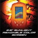 "Mobile ""Pocket Portable"" Color LCD Fish Finder w/ Wireless Sonar Sensor - NEW - Thirsty Buyer - 7"