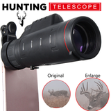 "Precision Optical's HD ""Hunting Edition"" Smartphone Telescopic Scope V2.0 w/ Easy Clip - NEW"