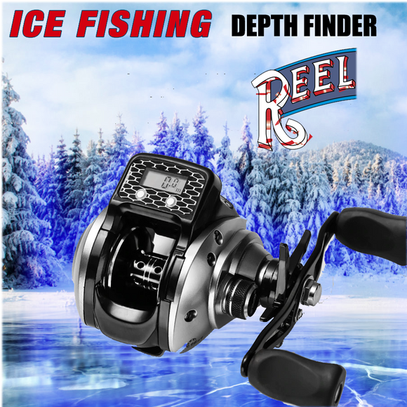 ICE FISHING PRO LCD Digital Display Depth Finder