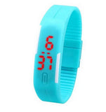 Touch Screen Button LED Bracelet Watches Men, Women, & Kids - Thirsty Buyer - 9