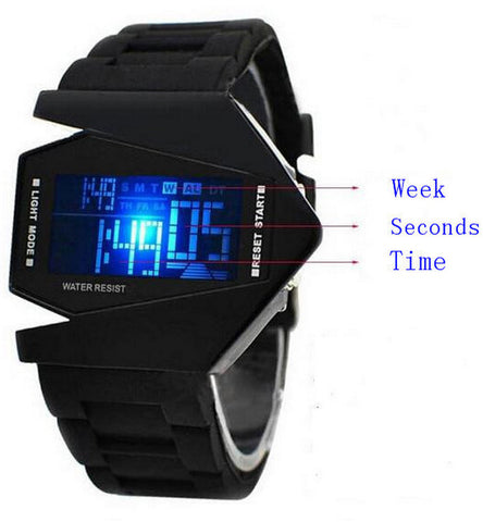 Stealth Fighter Jet F35 Wrist Watch - Thirsty Buyer - 1