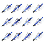 12 Pack of 3-Blade 100gr Arrow Broadheads - SUPER VALUE PACK
