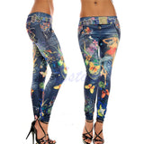Women's Designer JEAN-DEX Pants - Colorful Club Style -  - 1
