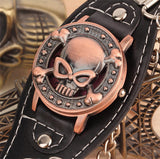 The Skull & Bones Chain Cuff Watch - Thirsty Buyer - 6
