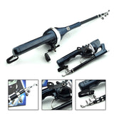 "All-in-One ""Pocket"" Folding Fishing Rod & Reel- From 8 inches to Over 4 Feet!"