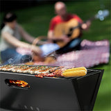 "Compact ""Foldable"" Charcoal BBQ Grill"