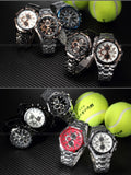 Men's Stainless Steel Luxury Fashion Quartz Watch - White -  - 2