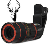"Precision Optical's ""Hunting Edition"" Smartphone Telescopic Scope w/ Easy Clip"