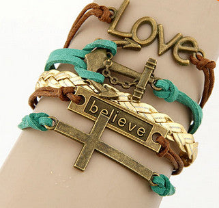 Women's CHRISTIANITY God's Love Bracelet - Thirsty Buyer