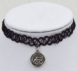 NEW - Zodiac Astrological Pendant Choker Necklaces - Choose your sign! -  - 8