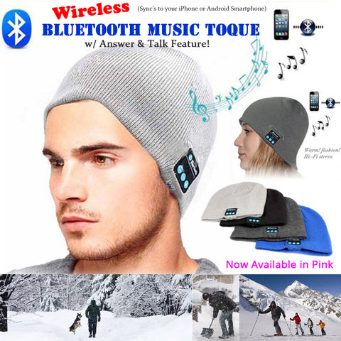 Wireless Bluetooth Smart Toque - iPhone & Android Compatible - Thirsty Buyer - 1