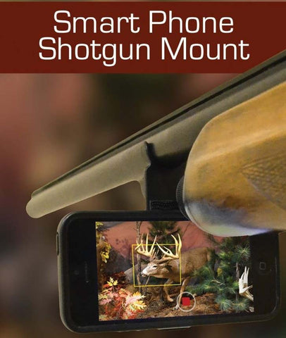 Smartphone Pro-Series Shotgun & Rifle Mount - Record Your Hunts From Your Firearm!