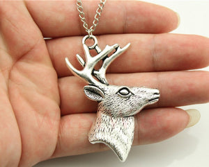 The BIG BUCK Hunters Necklace - Bronze or Silver - Thirsty Buyer - 1