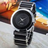 Women's Fashion Black Dial Elegance Quartz Watch -  - 2