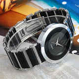 Women's Fashion Black Dial Elegance Quartz Watch -  - 4