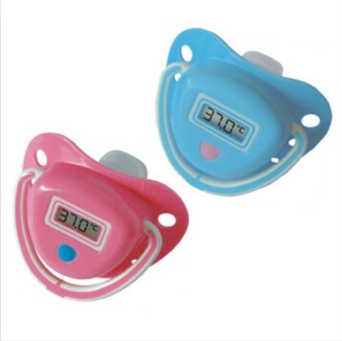 Baby Digital Pacifier Thermometer Soother -  - 1