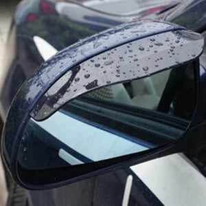 Car Universal Flexible Rain Shade Mirror Cover - Includes Pair - Thirsty Buyer - 1