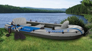The EXCURSION 5 Rafting & Fishing Boat w/ Paddles - Thirsty Buyer - 1