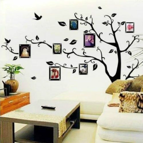 Family Tree Wall Art Vinyl Decal - Thirsty Buyer - 1