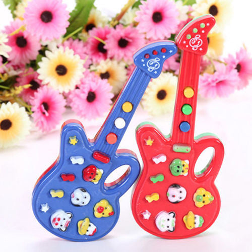 Kids/Toddler Developmental Musical Electronic Guitar -  - 1