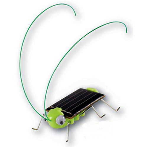 Solar Powered Robotic Grasshopper Toy - Thirsty Buyer - 1