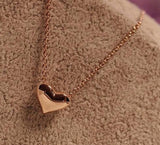 Women's Gold Heart Pendant Necklace - Thirsty Buyer - 2