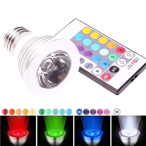 16 Color LED Magic Spot Light Bulb w/ Remote Control - Thirsty Buyer - 1