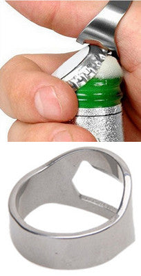 Beer Ring Bottle Opener - Thirsty Buyer - 1