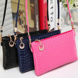Ladies Leather Crossbody MESSENGER Purse Handbag - Assorted Colors - Thirsty Buyer - 1
