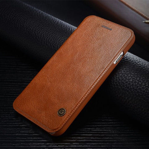 iPhone 6 6 Plus Luxury EXECUTIVES Leather Case - Assorted Colors - Thirsty Buyer - 1