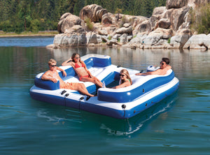 The OASIS ISLAND Lake & River Party Boat - Thirsty Buyer - 1