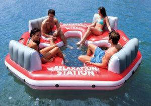The PACIFIC PARADISE Relaxation Water Raft Boat - Thirsty Buyer - 1