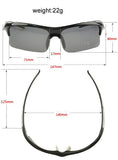 Professional Polarized Cycling/Athletics SunGlasses (Swiss Technology) - Yellow & Black -  - 4