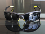 Professional Polarized Cycling/Athletics SunGlasses (Swiss Technology) - Yellow & Black -  - 2