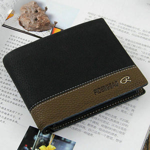 Men's Leather Bifold SLEEK Designer Wallet - Thirsty Buyer - 1