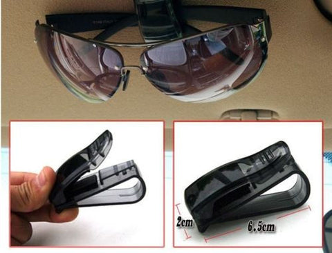 Car Sun Visor Clip Holder for Sunglasses & More - Thirsty Buyer - 1