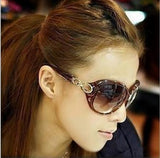 Women's Hollywood Star Fashion SunGlasses - Brown -  - 3