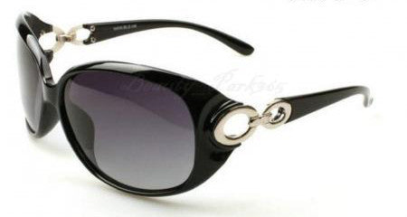 Women's Hollywood Star Fashion SunGlasses - Black -  - 1